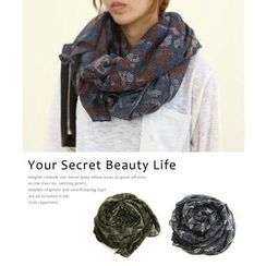 DANI LOVE - Patterned Scarf