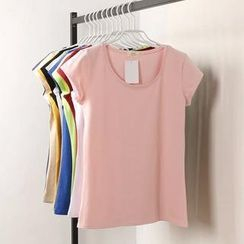 Tangi - Short-Sleeve Round-Neck T-Shirt