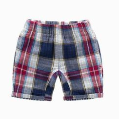 Kido - Kids Plaid Shorts