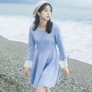 DK Yannie - Ruffle-Sleeve Dress