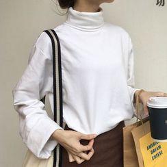 RASA - High Neck Long-Sleeve T-Shirt
