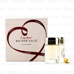 Cartier - Baiser Vole Coffret: Eau De Parfum Spray 50ml/1.6oz + Eau De Parfum Spray 9ml/0.3oz