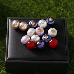 Barocche - Faux Pearl Pin