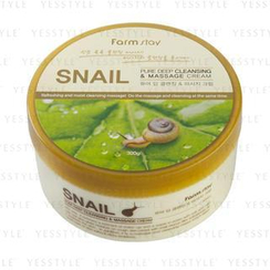 Farm Stay - Pure Deep Cleansing and Massage Cream (Snail)