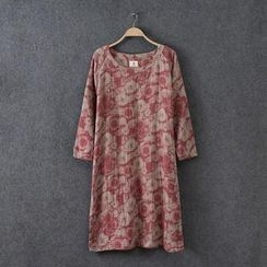 Rosadame - Floral Long Dress