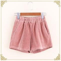 Fairyland - Plain Corduroy Shorts