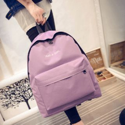 Bags 'n Sacks - Lettering Canvas Backpack