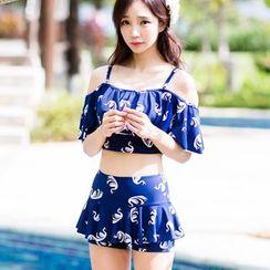 Beach Date - 天鹅分体泳衣