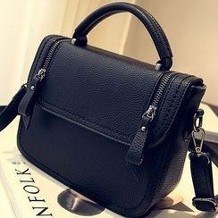 Secret Garden - Faux Leather Tote Bag