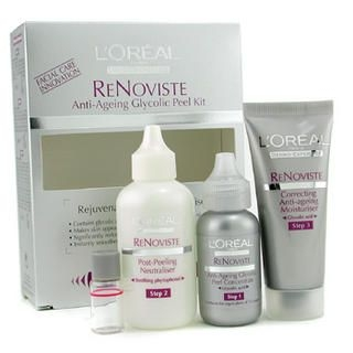L'Oreal - Dermo-Expertise Re Noviste Anti-Ageing Glycolic Peeling Kit