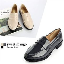 SWEET MANGO - Patent Loafers