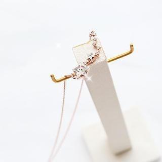Gossip Girl - Jeweled Star Necklace