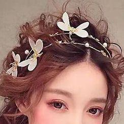 Ashmi - Bridal Butterfly Hair Band