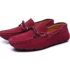 Van Camel - Genuine Suede Loafers
