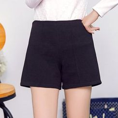 Loverac - Slim-Fit Woolen Shorts