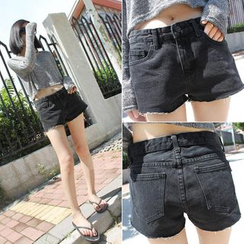 Windflower - Denim Shorts
