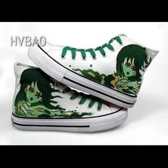 HVBAO - High-Top Canvas Sneakers