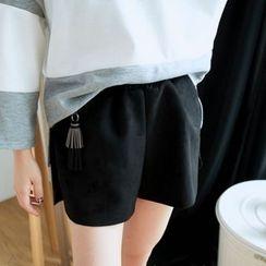 BAIMOMO - 吊蘇短褲