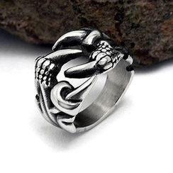Andante - Dragon Claw Titanium Steel Ring