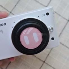 Photo Fun - Pig Nose Print Camera Lens Cap