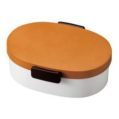 Hakoya - Hakoya Tight Mokume Oval Lunch Box Large (Natural)