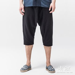 Ashen - Low-Crotch Knit Shorts