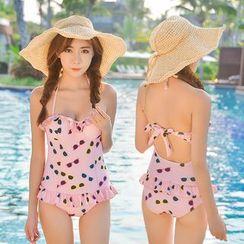 Blue Lagoon - Print Swimsuit