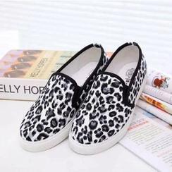 Shoeland - 豹纹轻便鞋