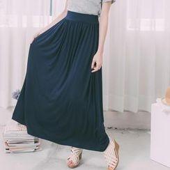Lucky Leaf - Maxi Skirt
