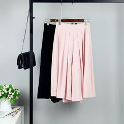 AIGIL - Pleated Wide Leg Pants