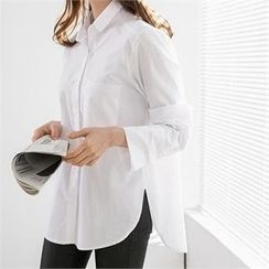 PEPER - Pocket-Front Dip-Back Shirt