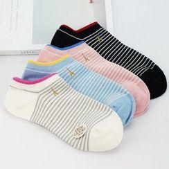 MITU - 條紋襪