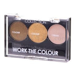 Collection Work The Colour - Work The Colour Trio Eye Shadow (#5 Chompagne Fizz)