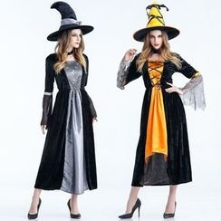 Cosgirl - Halloween Witch Party Costume