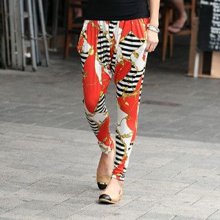 59 Seconds - Print Harem Pants