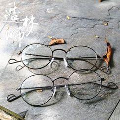 Reveries - 金属超轻圆形眼镜