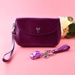 MILESI - Set: Flap Pouch + Key Holder