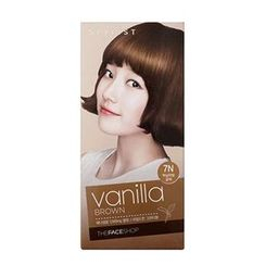 The Face Shop - Stylist Silky Hair Color Cream (#7N Vanilla Brown) 130ml