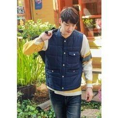 GERIO - Snap-Button Vest