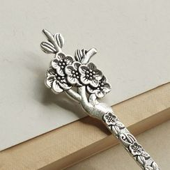 Paper House - Plum Blossom Bookmark