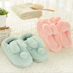 Show Home - Rabbit Fleece Home Slippers