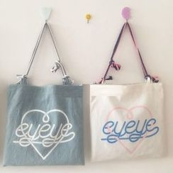 Bundle of Joy - Lettering Canvas Tote Bag