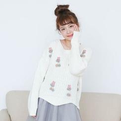 Storyland - Cherry Sweater