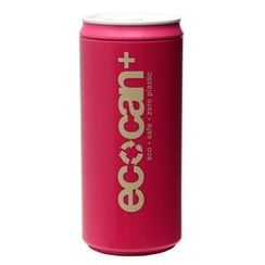 Eco Concepts - Eco Can Plus Pink with Beige Print (450ml)
