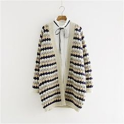 Storyland - Striped Long Cardigan