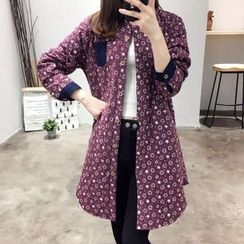 Waypoints - Floral Print Padded Long Shirt