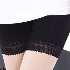 Hyoty - Lace Trim Under Shorts