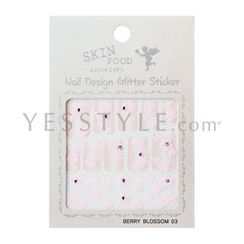 Skinfood - Nail Design Glitter Sticker (#03)