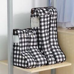 itoyoko - Plaid Boot Organizer