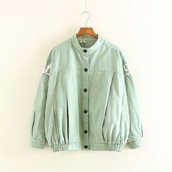Mushi - Print Snap Button Jacket